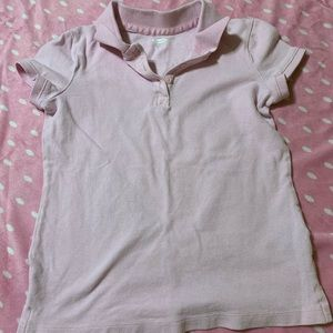 Old Navy Girls Pink Polo Shirt